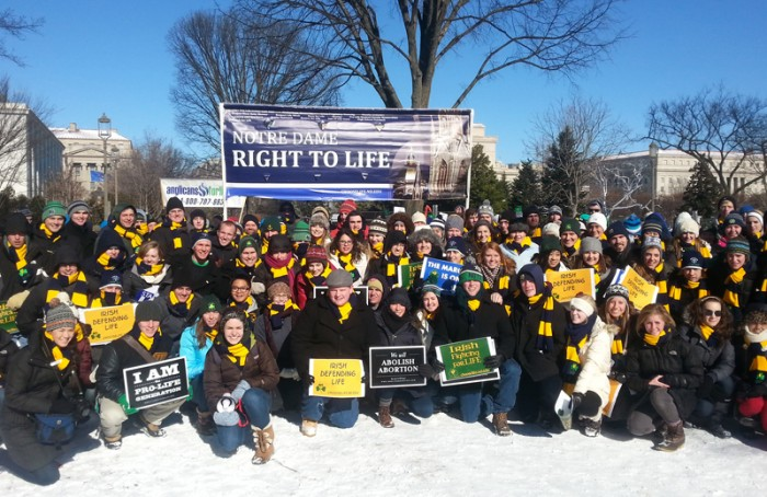 March for Life courtesy of Anna Carmack