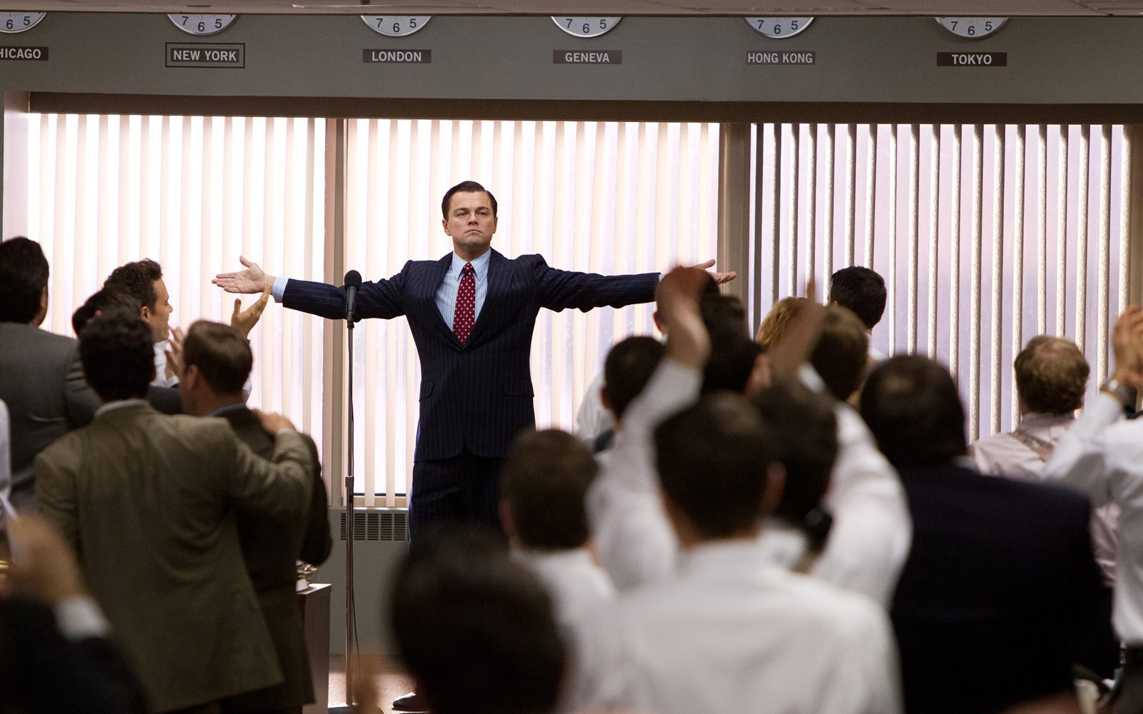 Follow the wolf of wall street movie on  source