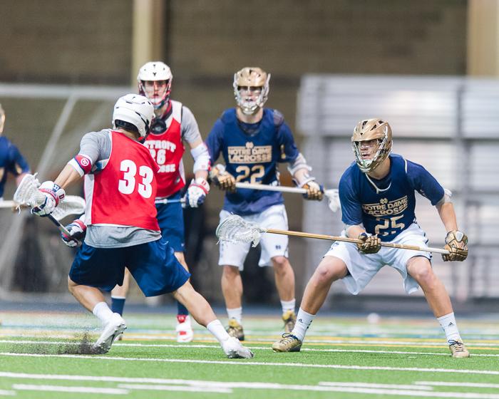 Brian Buglione– #25, Defense, Senior // The Observer