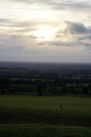 Kiera Johnsen, a sophomore at Saint Mary's, said she first fell in love with Ireland when she saw the sunset on Hill of Tara. Tara is said to be the seat of the High Kings of Ireland.