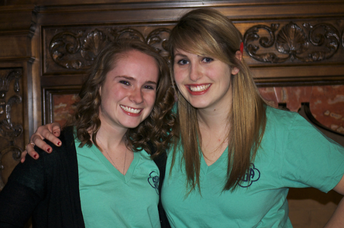 Incoming student body president McKenna Schuster (right) and vice president Sam Moorhead (left) will take office April 1.