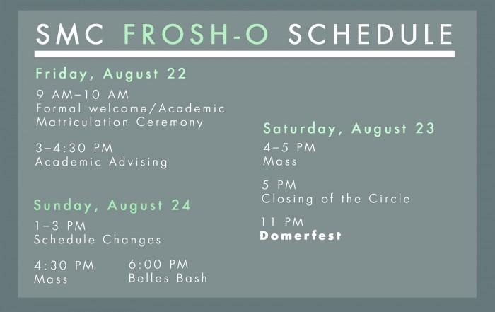 SMC schedule graphic