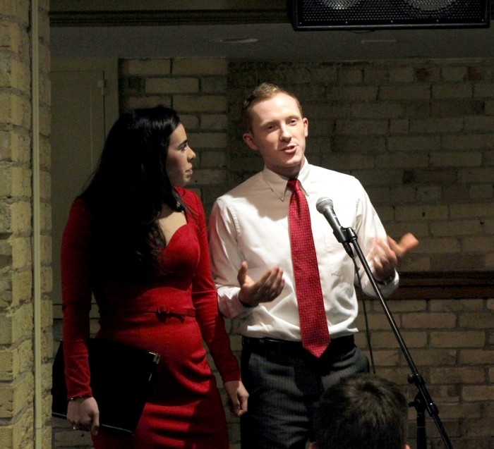 Vidal and Devine, Presidential Debate, Emily McConville