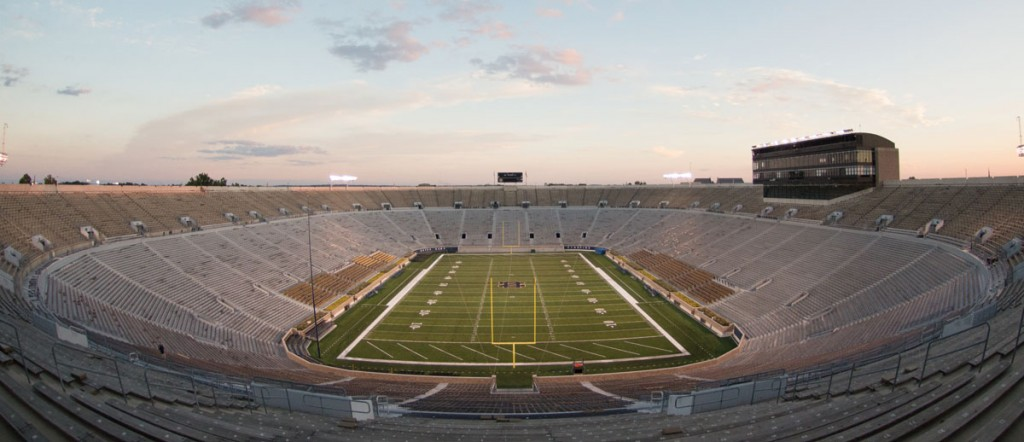 20140903, 20140903, Football, Insider, Notre Dame Football Stadium, Wei Lin