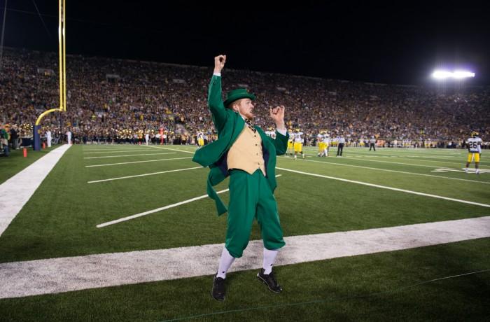 #5 20140906, 2014-2015, 09062014, Caroline Genco, Football, Michigan vs. Notre Dame, The Observer