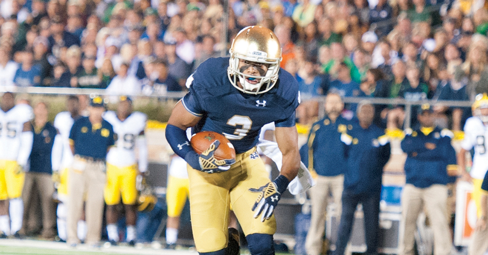 20140906, 2014-2015, 20140906, by Zach Llorens, Football, michigan, Notre Dame Stadium, Win 31-0