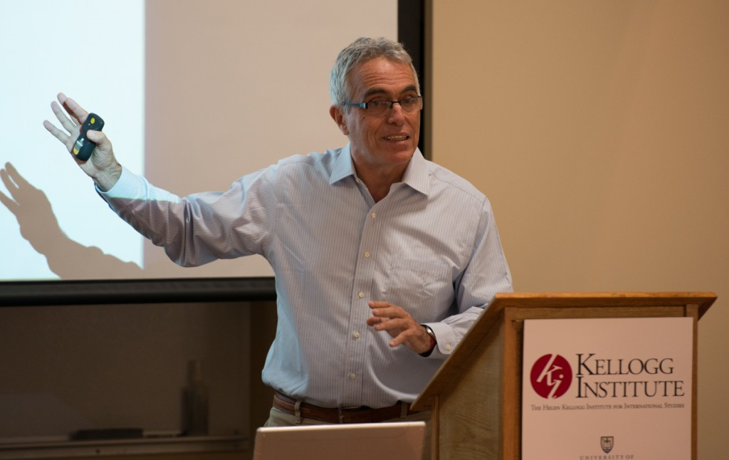 20140915, 2014-2015, 20140916, Democracy Lecture, Emmet Farnan, Hesburgh Center for International Studies, Lecture, The Observer