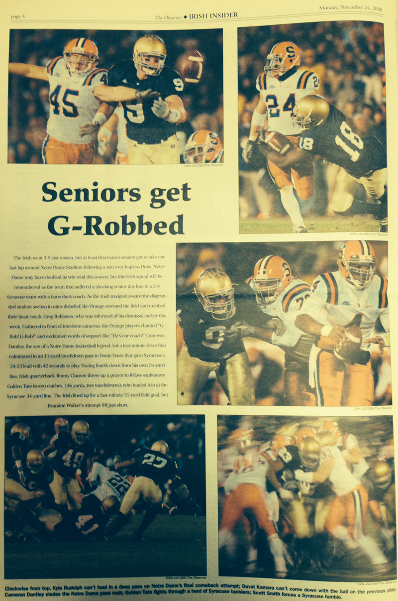 The Observer from Nov. 24, 2008.