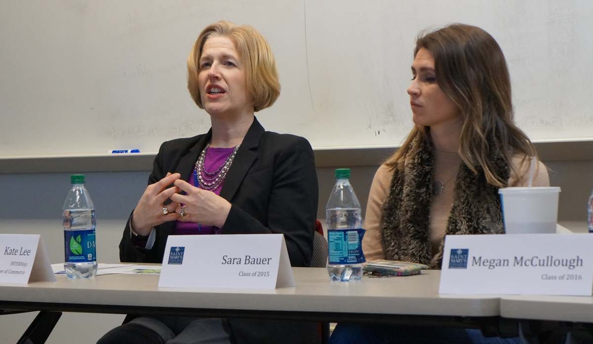 Organized by the Career Crossings Office and department of business and economics, an internship panel presented on Wednesday to educate students on landing proper internship positions.