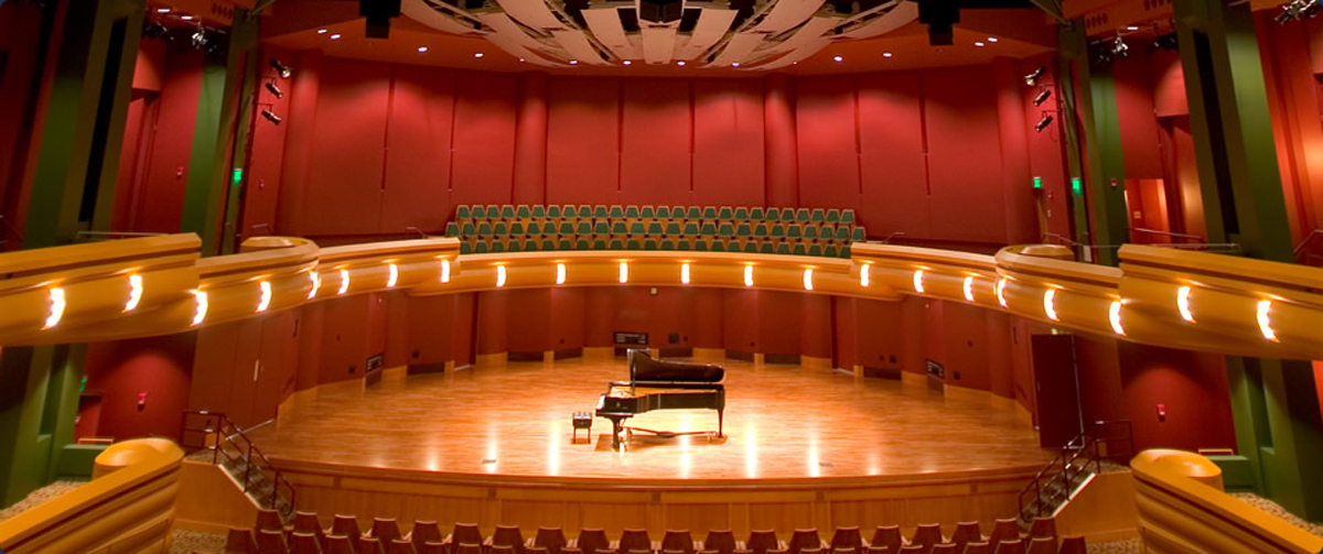 "The Debartolo Performing Arts Center (DPAC) was named one of the ""25 Most Amazing Campus Arts Centers"" by College Degree Search."