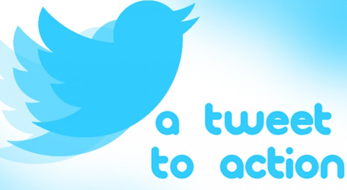 A Tweet to Action
