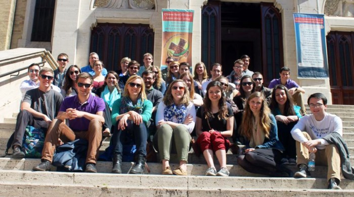 Notre Dame students who are studying abroad  in Europe journey to Rome to celebrate Easter mass at the Vatican as part of a Campus Ministry pilgrimage.