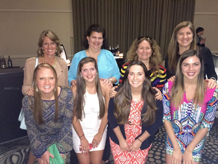 Saint Mary's juniors enjoyed dinner with their mothers at the Gillespie Center at the Hilton Garden Inn.