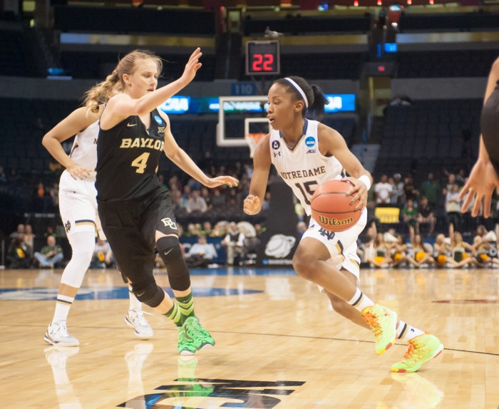 20150329, 20150329, Baylor, Elite Eight, Jodi Lo, Women's Basketball