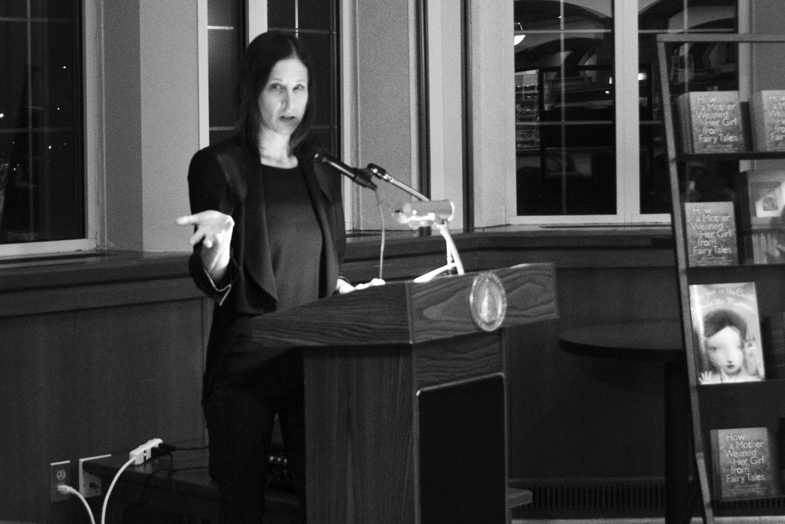 20151104, 20151104, Book Reading, Caroline Genco, Hammes Bookstore, Kate Bernheimer, The Observer