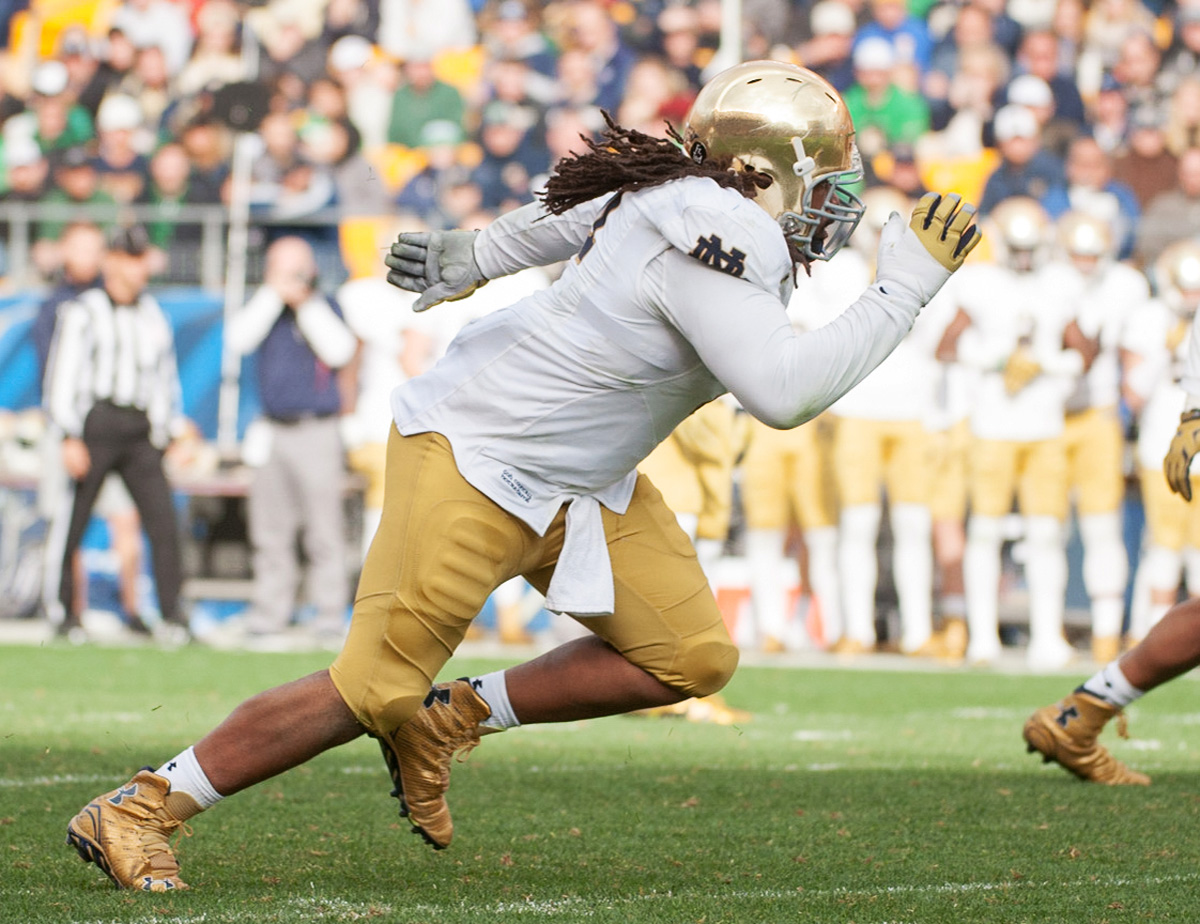Day 20151107, Football, Heinz Field, ND, Nov2015, The Observer, vs Pitt-2