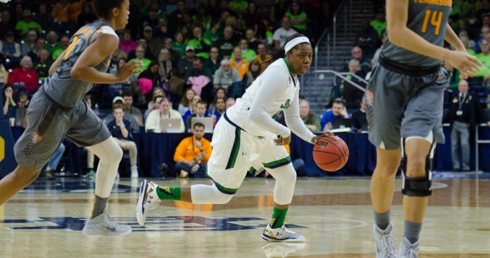 Irish lose Jackson but still beat Boston College 76-49