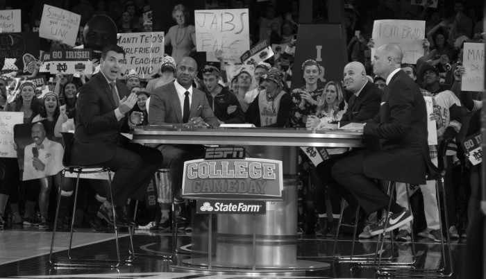 20160206, 20160206, Chris Collins, ESPN College Gameday, Purcell Pavillion