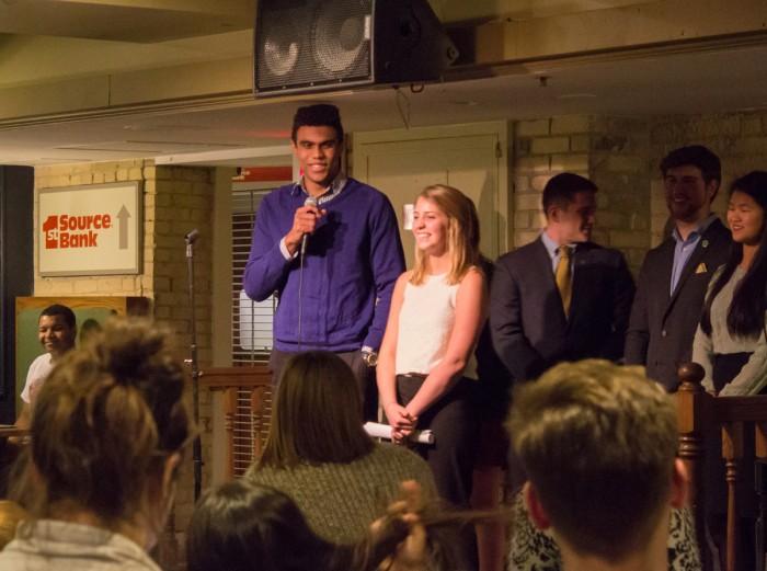 20160208, 20160208, Kat Robinson, La Fun, Student Election Debate-3