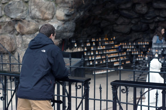 In response to an off-campus sexual assault on Feb. 24, student government held a prayer service at the Grotto on Friday, encouraging students to promote awareness and discussion about sexual assault.