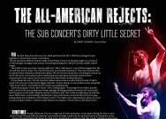 The All-American Rejects: The SUB concert's dirty little secret
