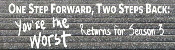 One step forward, two steps back web
