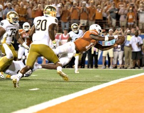 Football: University of Texas at Austin, Loss 47-50, Darrell K. Royal–Texas Memorial Stadium