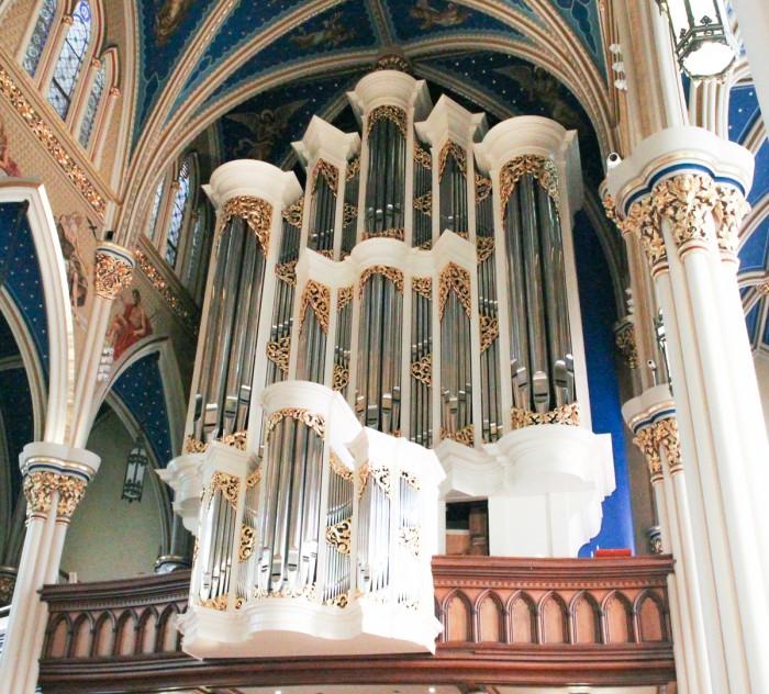 20160907, 20160907, Basilica of the Sacred Heart, new organ, Peter St. John