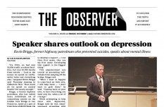 Print Edition of The Observer for Friday, October 7, 2016