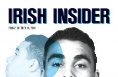 Print Edition of the Irish Insider for Stanford Week, Friday, October 14, 2016