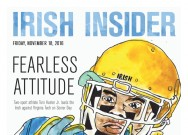 Print Edition of the Senior Day Irish Insider for Virginia Tech week: Friday, November 18, 2016