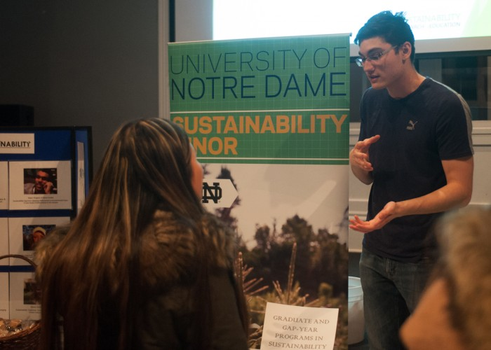web 20170131, 20170131, Emmet Farnan, LaFun Ballroom, The Observer, Undergraduate sustainability research expo-2