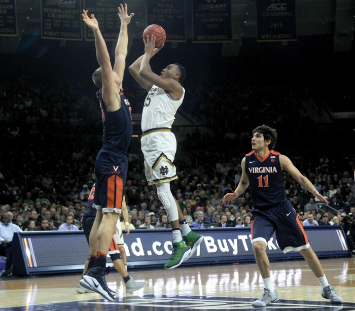 Irish drop third consecutive game 84-74 to Duke