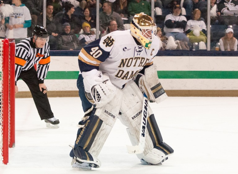 Hockey East: Notre Dame Takes Three Points From Visiting Providence Hockey