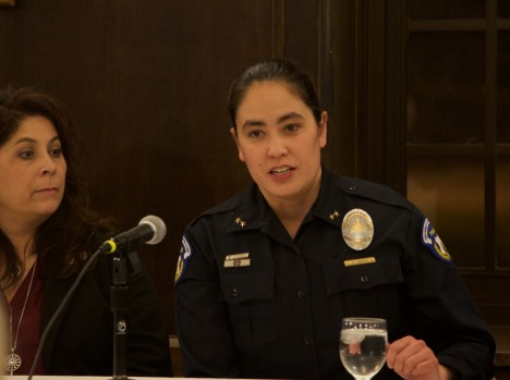 NDSP chief discusses women in police force