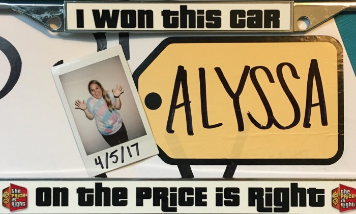 "Saint Mary's senior Alyssa Mazurek won both a new Ford Fiesta and a six-night trip to Germany on ""The Price is Right"" in March."