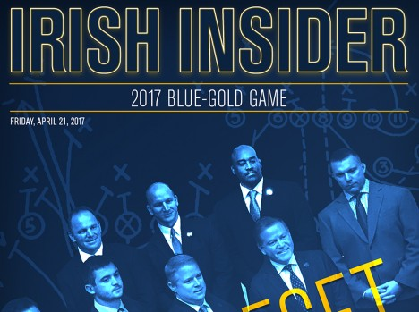 Irish Insider: Blue-Gold Game 2017