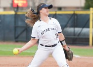 Irish rebound from sweep against Northwestern
