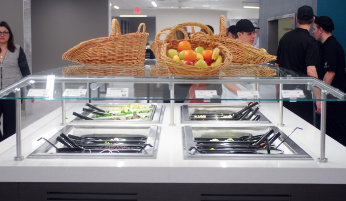 North Dining Hall now features NDH Marketplace in place of Grab 'n Go, where students can buy smaller snacks using flex points instead of a full meal swipe. The changes were mainly student-driven.