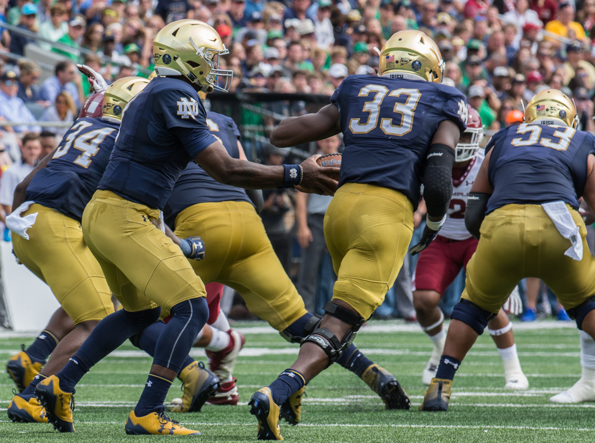 Brian Kelly Says Georgia Running Game Will Truly Test The Fighting Irish