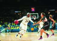 Despite injuries, Irish primed to finish road trip at UConn
