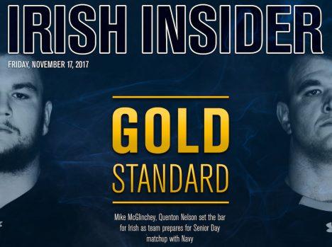 Irish Insider: Navy
