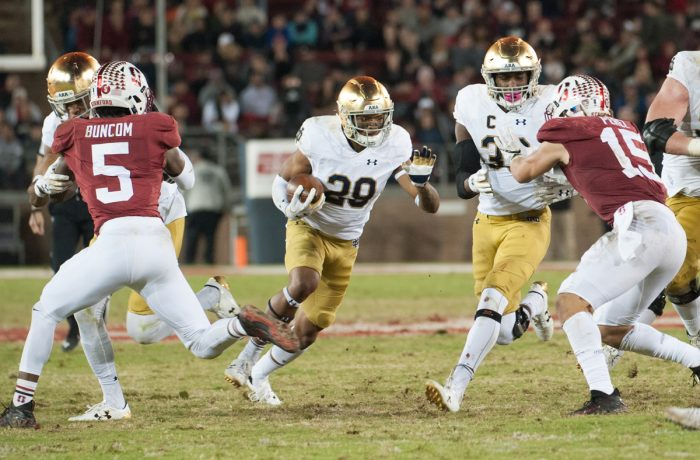 Notre Dame dismissed 4 players from program