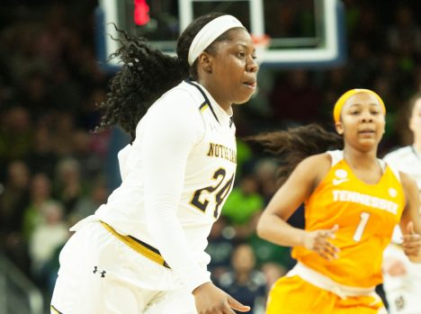 No. 5 Irish overcome largest deficit in program history to take down No. 6 Tennessee