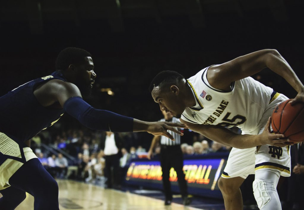Bonzie Colson's return lifts Notre Dame to 73-56 victory over Pittsburgh